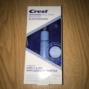 Crest Whitening Emulsions with Built-In Ap…